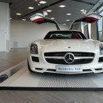 Mercedes-Benz SLS AMG doors