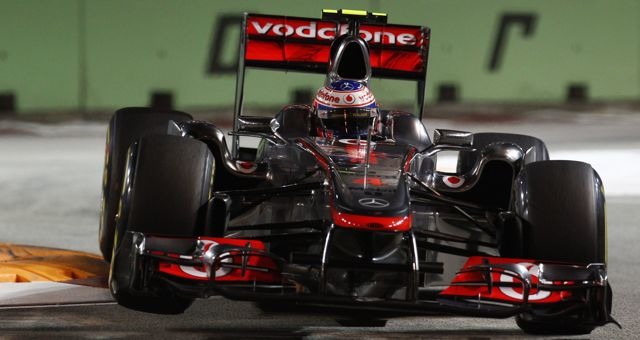 Jenson Button Signs New Multi Year Deal For Mclaren