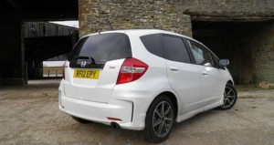 Honda Jazz Si rear