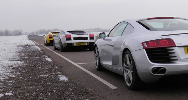 Supercars track day