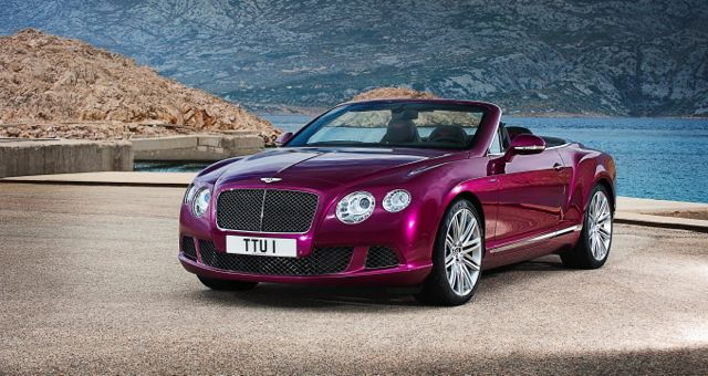 2013 Bentley Continental GT Speed Convertible front