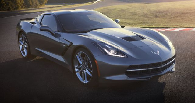 2014 Chevrolet Corvette Stingray front silver