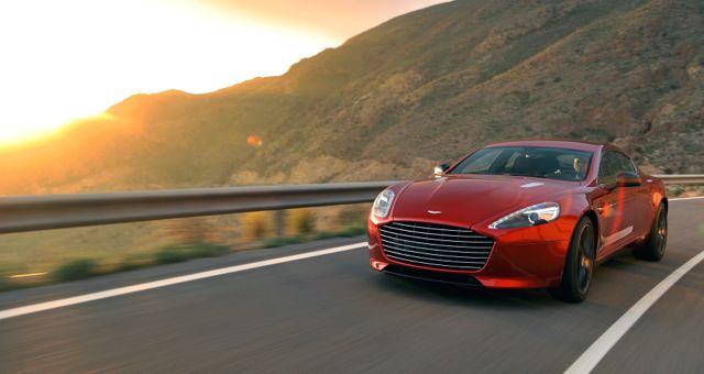 Aston Martin Rapide S front