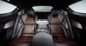 Aston Martin Rapide S inside rear