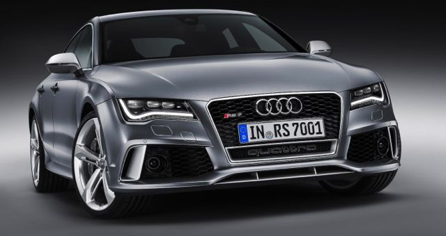 Audi RS7 Sportback front