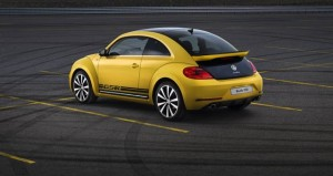 2013 VW Beetle GSR rear