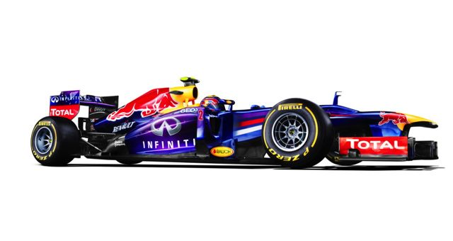 Red Bull RB9 profile
