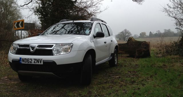 Dacia Duster Access 1.6 16v 105 4X4 front 2