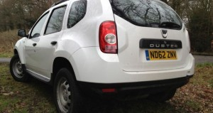 Dacia Duster Access 1.6 16v 105 4X4 rear