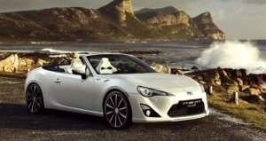 Toyota FT-86 Cabriolet front