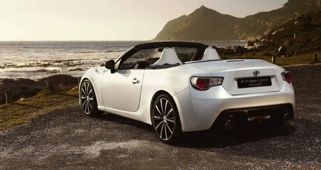 Toyota FT-86 Cabriolet rear