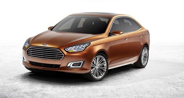 2013 Ford Escort Concept front