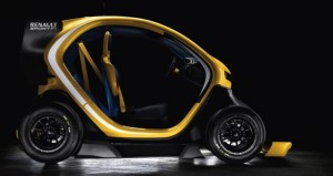 Renault Twizy F1 Concept profile
