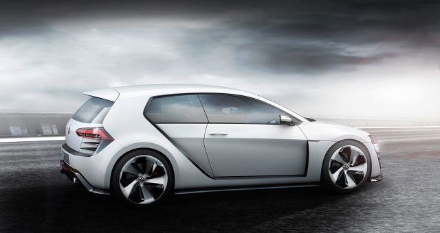 VW Golf GTI Design Vision rear