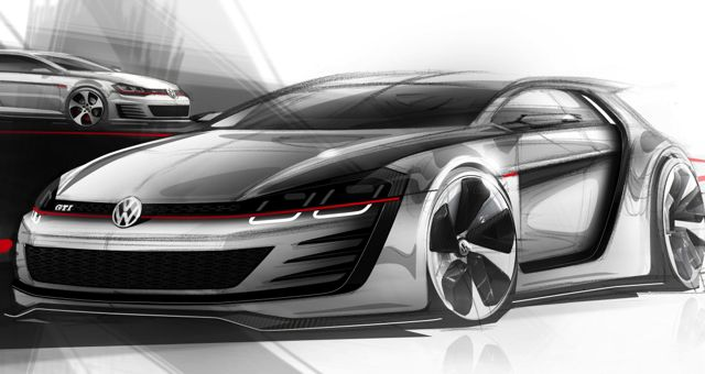 VW Golf GTI Design Vision