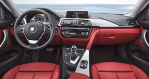 2013 BMW 4 Series inside