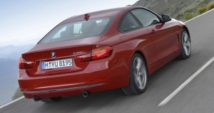 2013 BMW 4 Series rear