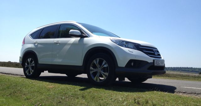 2013 Honda CR-V profile