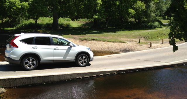 2013 Honda CR-V river