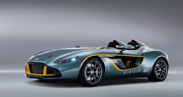 Aston Martin CC100 production