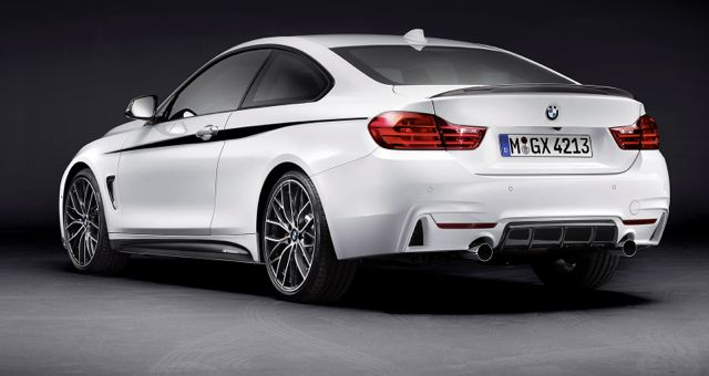 BMW 4 Series M-Performance Package rear