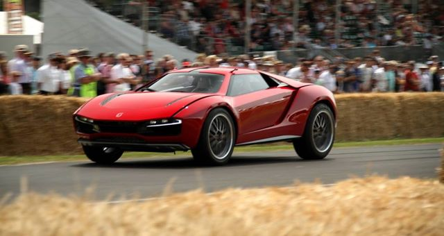 Italdesign Giugiaro Parcour Concept crash Goodwood