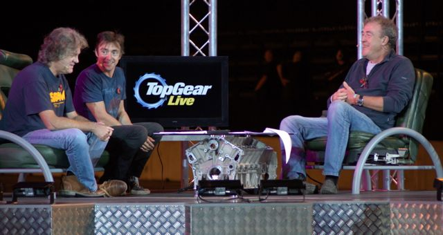 Top Gear Live 2011 Studio Stage