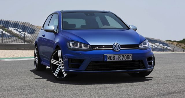 2014 VW Golf R front