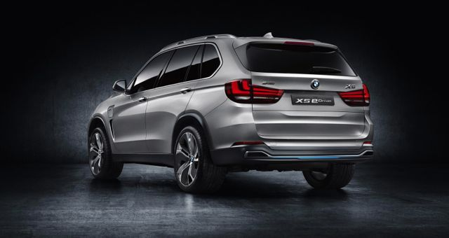 BMW X5 eDrive Concept rear
