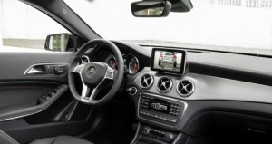 Mercedes-Benz GLA inside