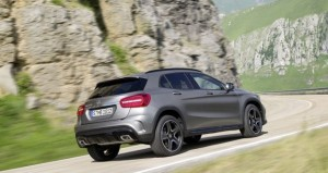 Mercedes-Benz GLA rear