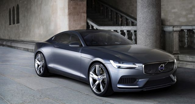 Volvo Coupe Concept front