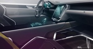 Volvo Coupe Concept inside