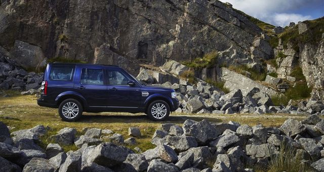 2014 Land Rover Discovery profile