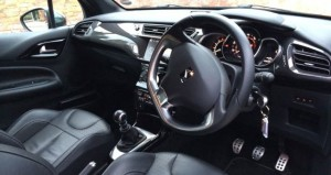 Citroen DS3 DSport inside