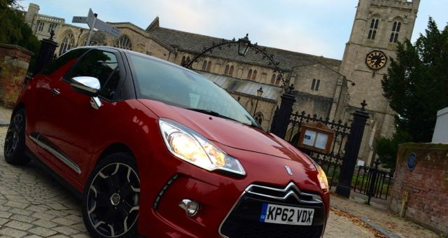 Citroen DS3 DSport profile