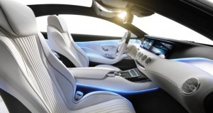 Mercedes-Benz Concept S-Class Coupe inside