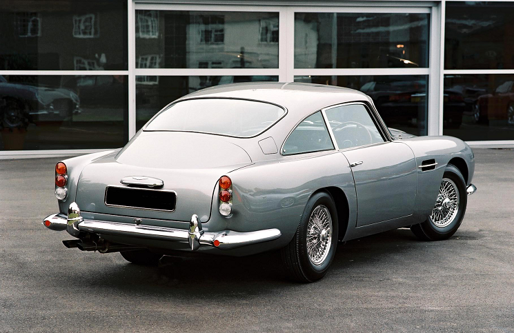 1963 Aston Martin DB5 rear