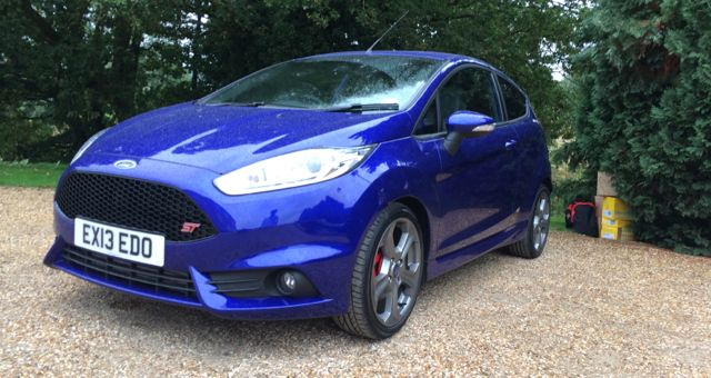 2013 Ford Fiesta ST front