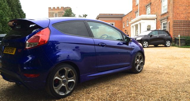 2013 Ford Fiesta ST rear