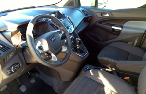 2014 Ford Grand Tourneo Connect inside