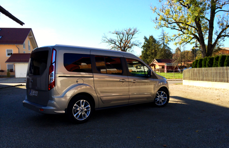 2014 Ford Grand Tourneo Connect profile