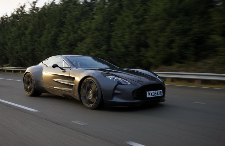 Aston Martin One-77 prototype
