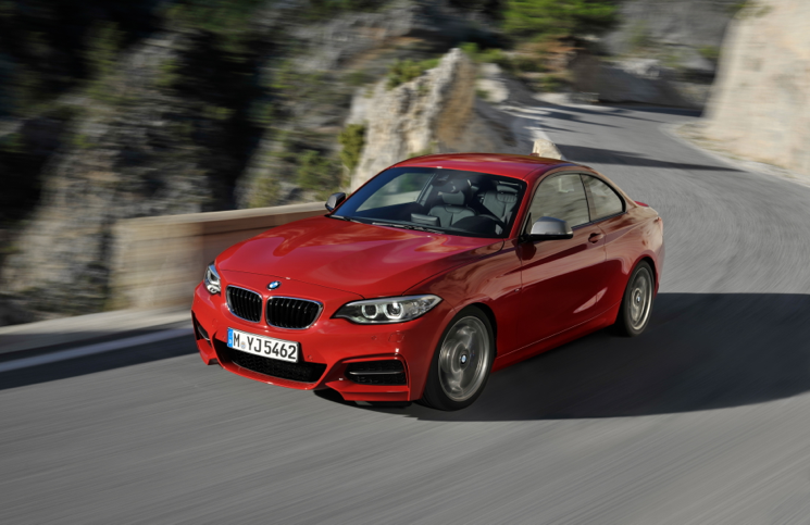 BMW 2 Series M235i front