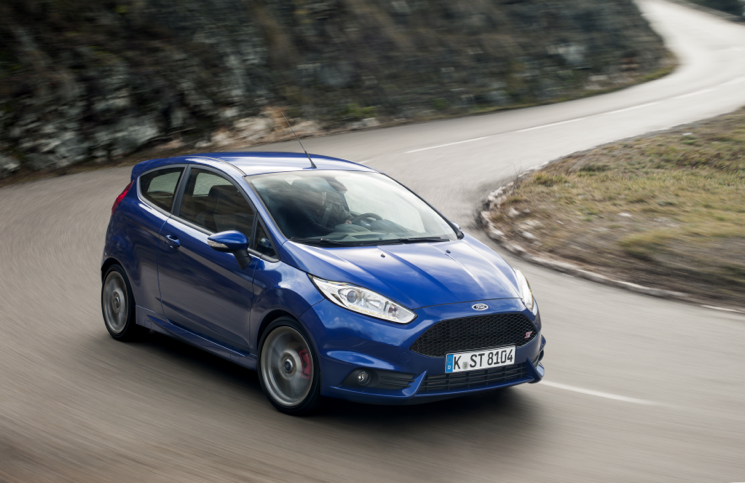2013 car of the year Ford Fiesta ST front