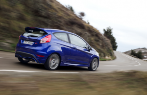 2013 car of the year Ford Fiesta ST rear