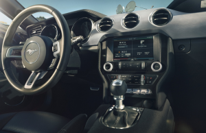 2015 Ford Mustang inside