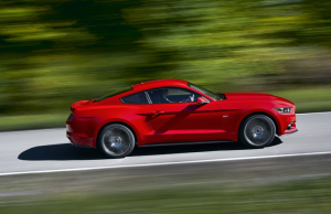 2015 Ford Mustang profile