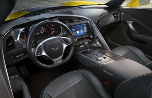 2015 Chevrolet Corvette Z06 inside