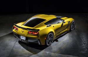 2015 Chevrolet Corvette Z06 rear